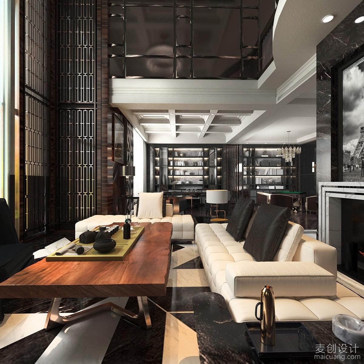 接待客厅设计方案