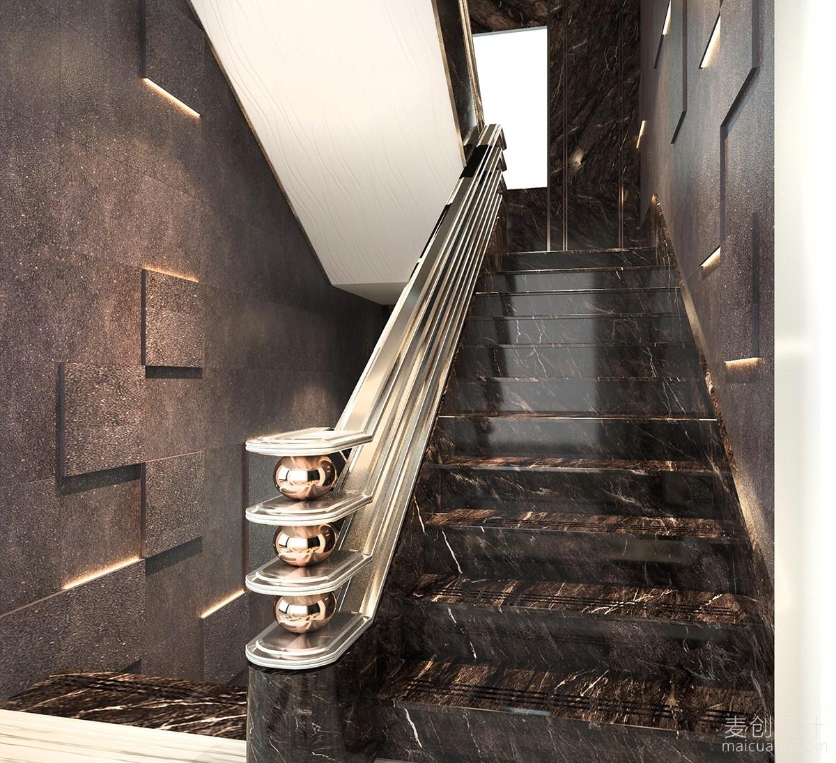豪华的楼梯