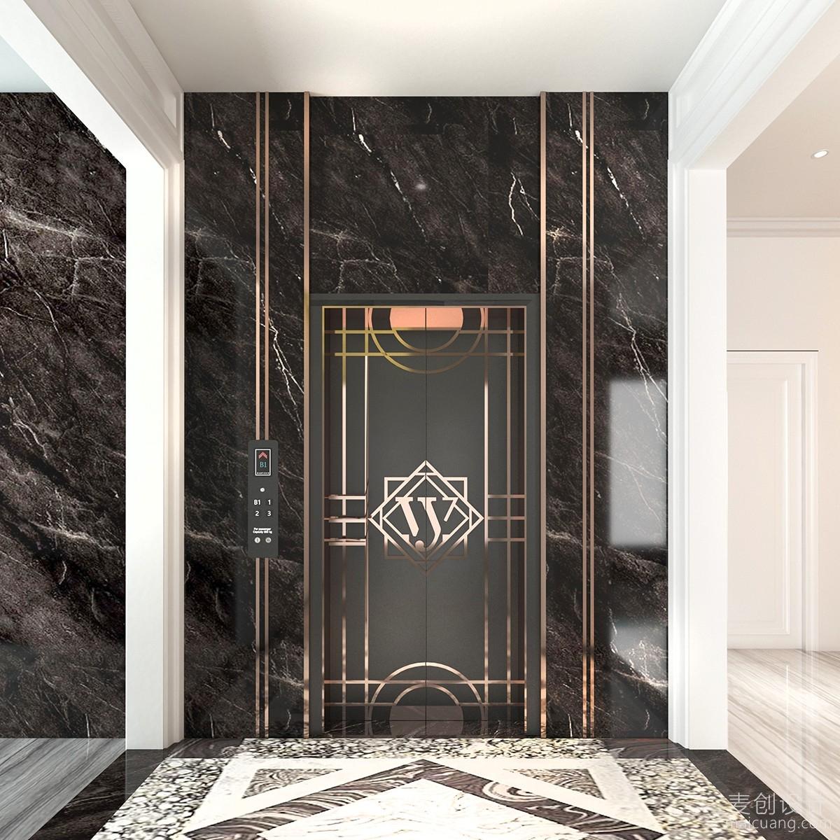 别墅内部电梯电梯