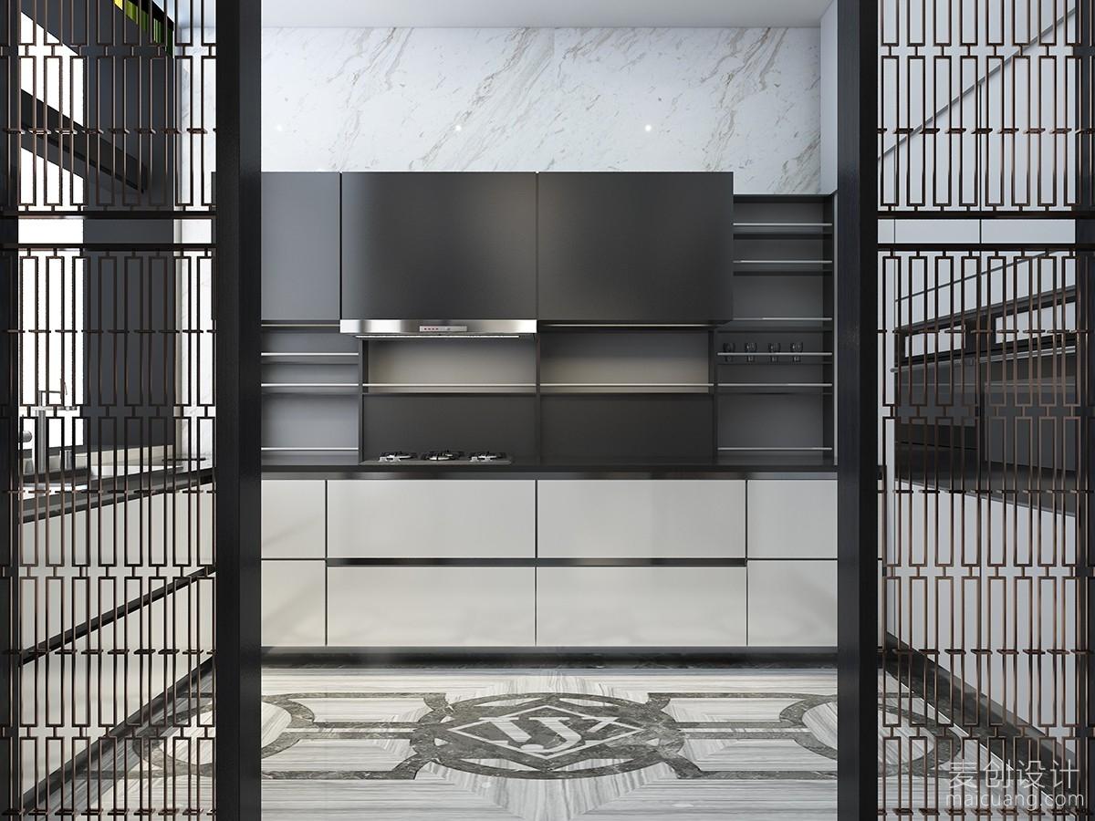 中式厨房家庭装修设计图