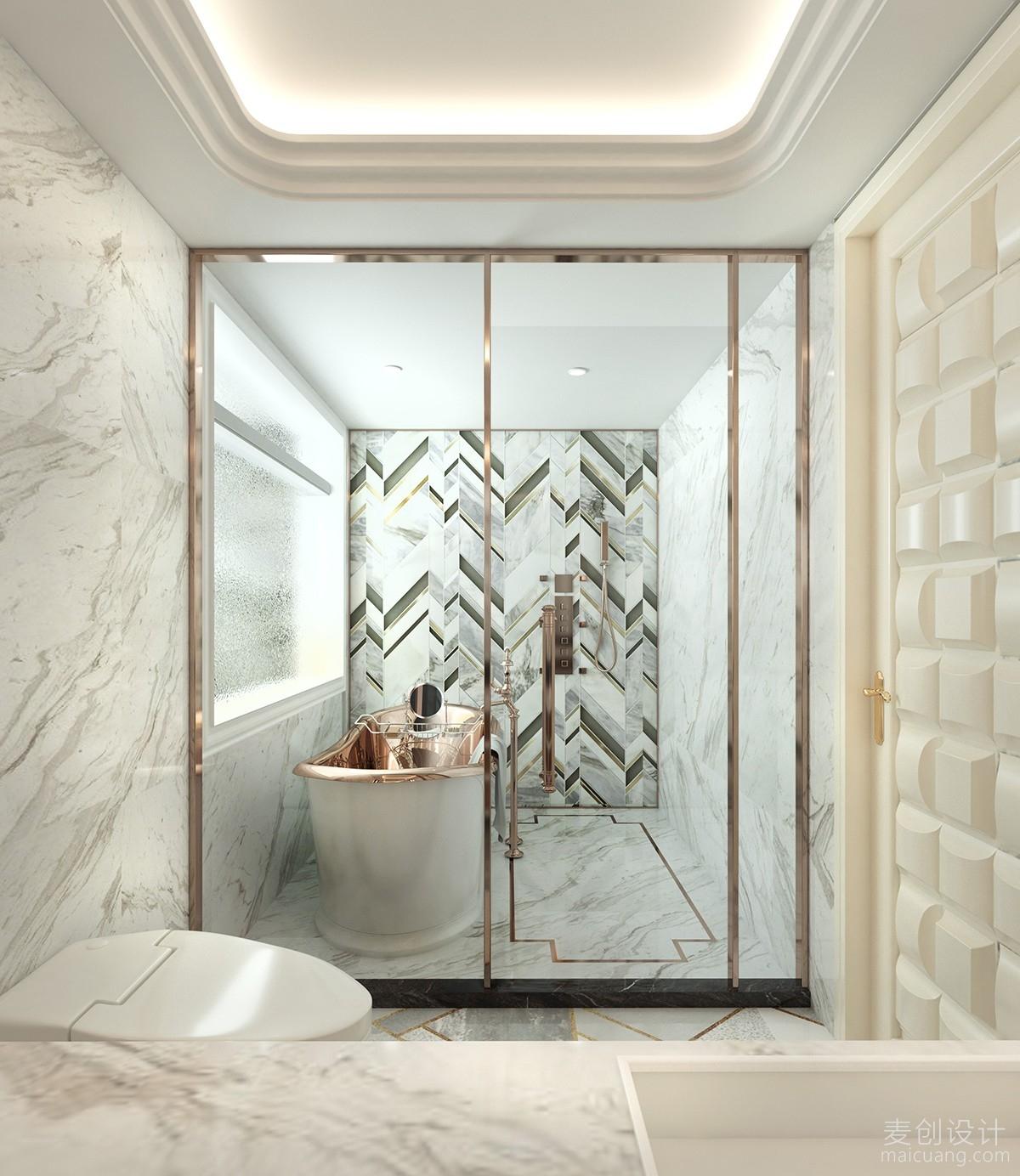 鎏金的浴缸