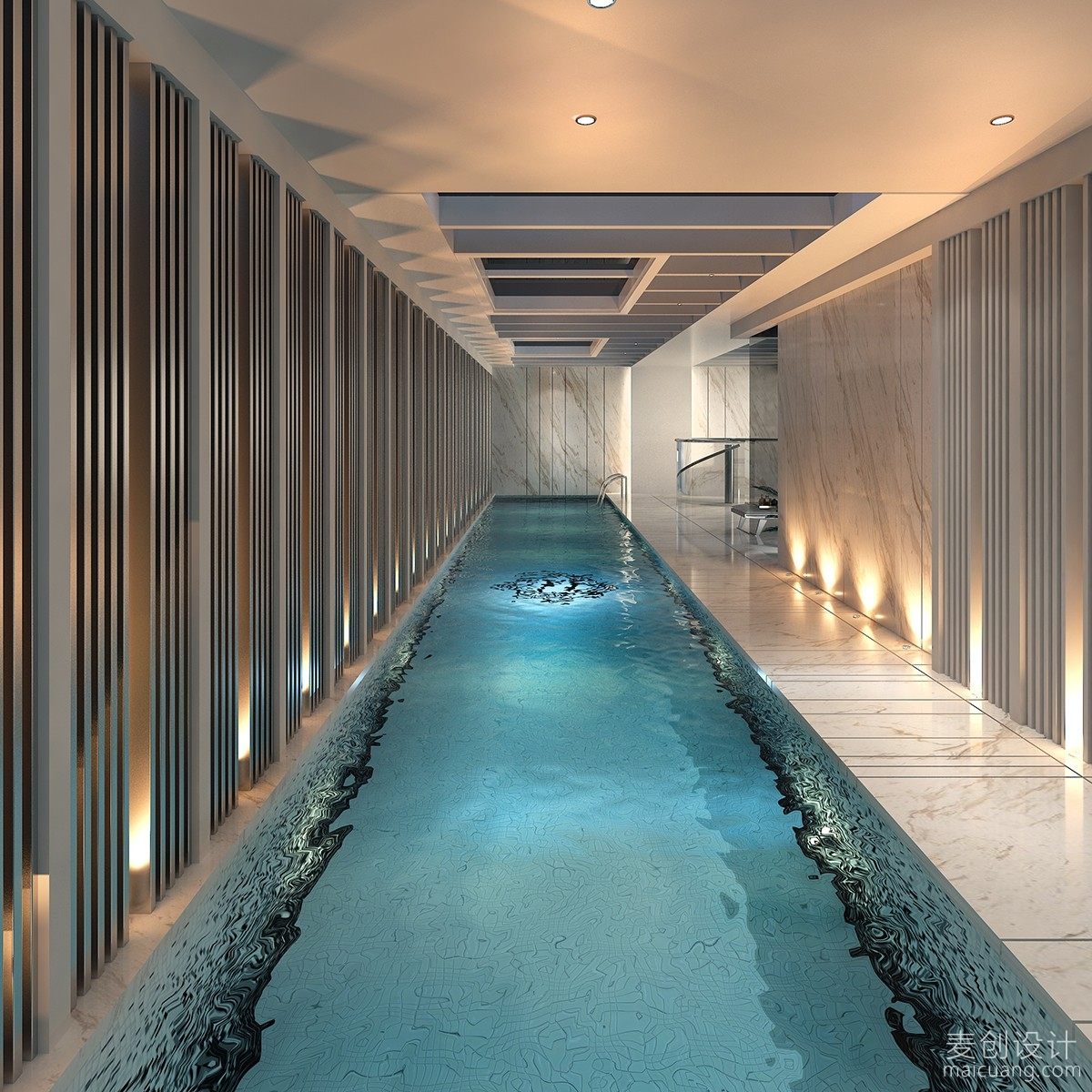 别墅室内游泳池