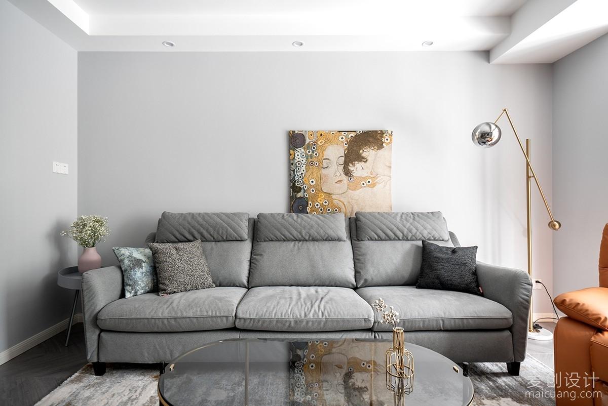 家庭装修方案沙发背景墙设计图