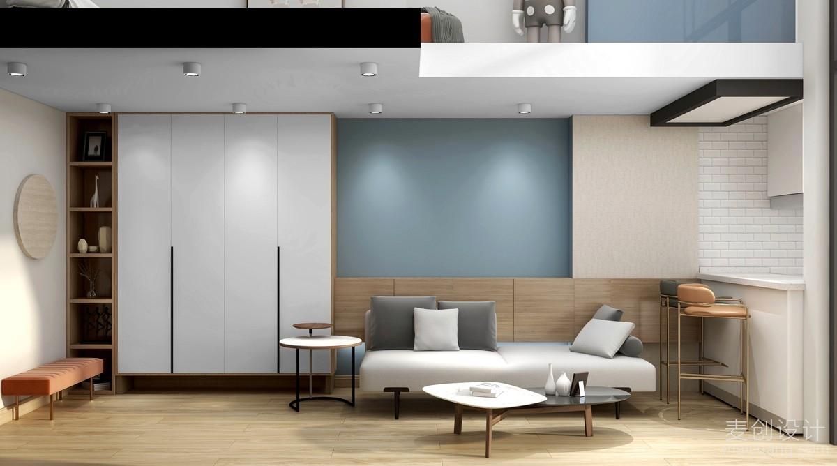 客厅装修室内效果图1