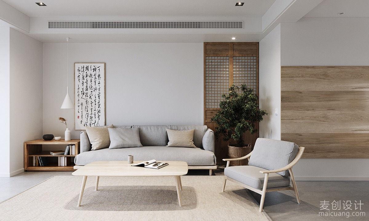 日式简约原木风格家具