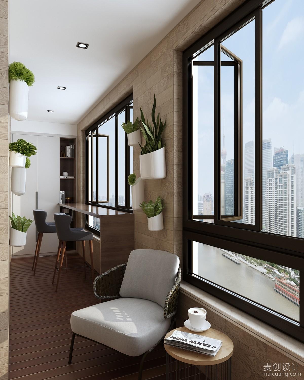 阳台装修设计效果图