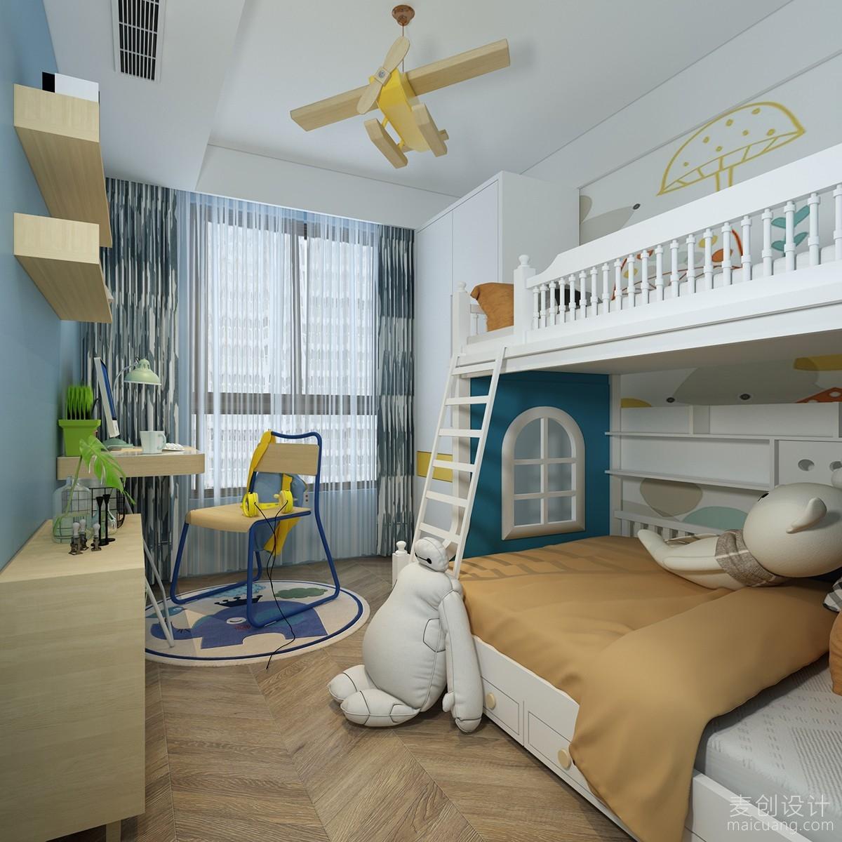 儿子房间装修设计效果图
