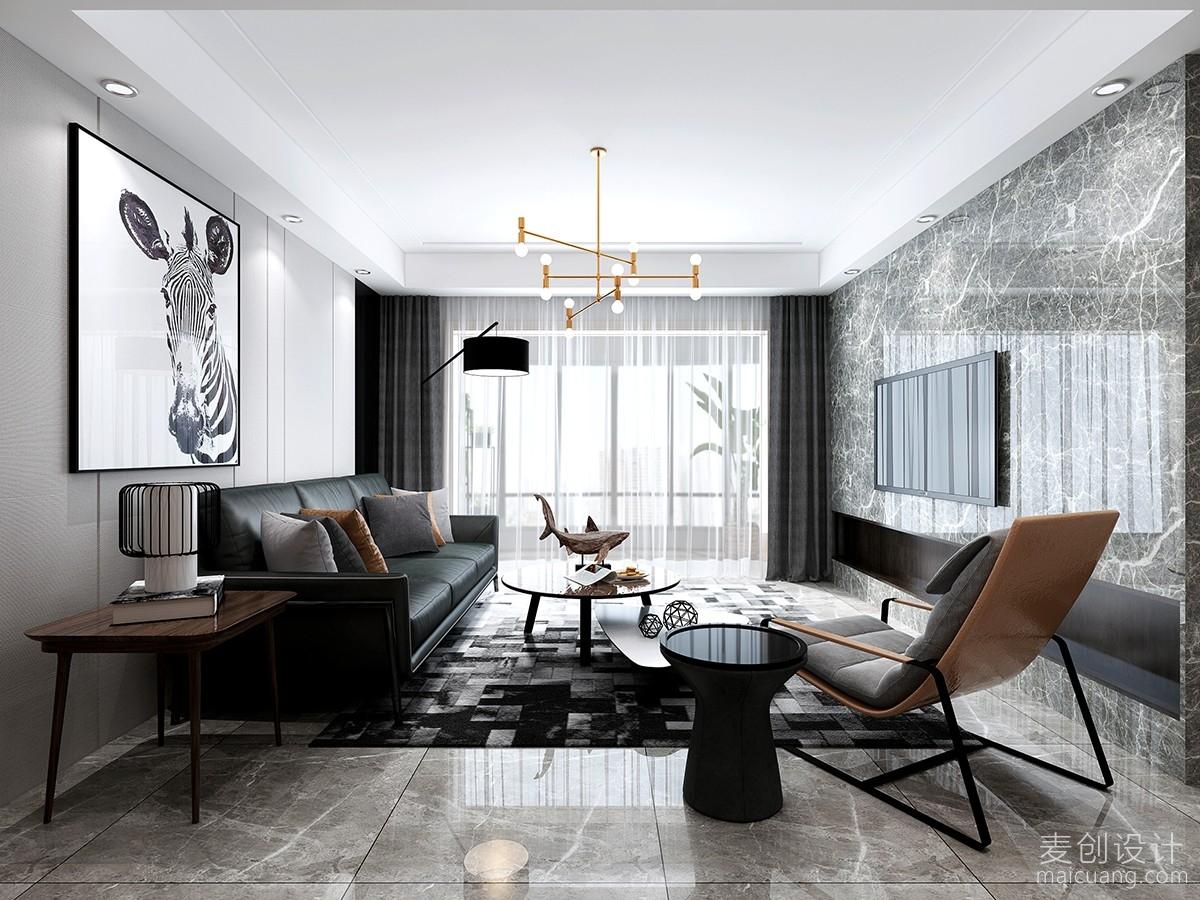 客厅北欧风格装修设计效果图